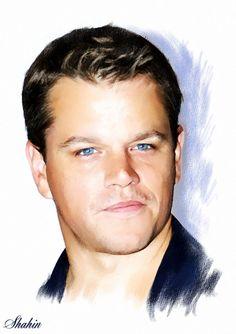 Matt Damon by shahin