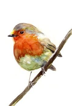 Image result for red robin bird decoupage