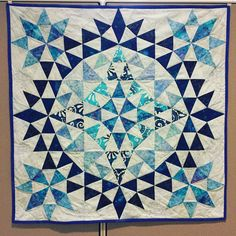 Kaleidoscope quilt made by Wendy Christian