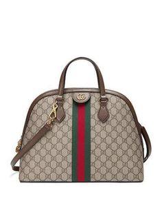 77b44743eb3d Gucci Ophidia Medium Web GG Supreme Top-Handle Bag  guccihandlebag Gucci  Baby