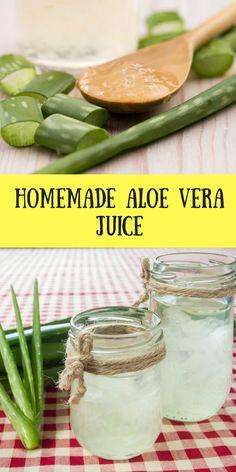 Homemade Aloe Vera Juice Recipes