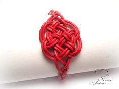Como hacer el nudo celta del amor eterno para una pulsera. Celtic knot o...