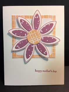 March 2017 Paper Pumpkin Alternative Card, Mother's Day Card, Stampin' Up!, Rubber Stamping, Handmade Cards