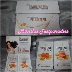 Bei Pantene Pro-V könnt ihr euch aktuell wieder eine von drei Pflegeserien in Probiergröße (10 ml) bestellen: Anti-Haarverlust, Color Protect oder Volumen Pur.