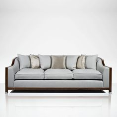 Grosvenor Show Wood 3 Seater Sofa | Luxury Gifts & Homeware, Furniture, Interior Design, Bespoke