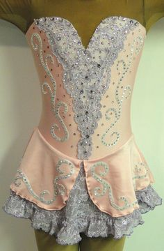 lace figure skating dress | Sk8 Gr8 Designs , Custom Figure Skating Dresses