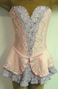 lace figure skating dress | Sk8 Gr8 Designs , Custom Figure Skating Dresses