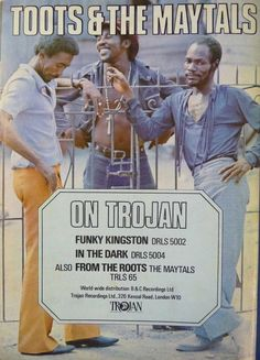 Toots & The Maytals On Trojan