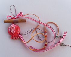 Lucky Charm /Pomegranate Lucky Charm by allabouthandicraft on Etsy