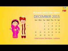 Nishtha + Saurabh wedding invite - YouTube