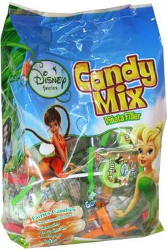 Disney Fairies Pinata Filler Bagged Candy (Blue) Party Accessory $7.20