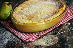Tejbegríz felfújt körtével (bögrésen is Hungarian Recipes, Hungarian Food, Food Inspiration, Hummus, Paleo, Dessert Recipes, Food And Drink, Health Fitness, Favorite Recipes
