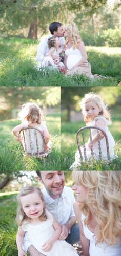 family photographer, jen gagliardi. I love how the mom and the little girls hair looks in this!