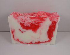 Cherry Vanilla Sugar Soap Slice by soapofthesouth on Etsy, $5.00