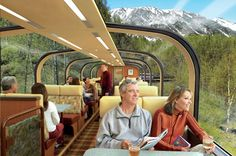 2016 Alaska: Our top ten most-asked questions about cruises and cruise tours to Alaska. Find all the wonders beyond compare, and the savings beyond belief - Top 25 Alaska Cruises and Cruise Tours of 2016 Train Travel, Travel Usa, Train Trip, Cruise Travel, Train Rides, Travel Tips, Orient Express Train, The Places Youll Go, Places To Go