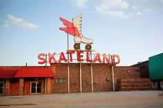 Skateland, Memphis, Tennessee I went here every weekend pretty much my whole childhood. My family knew the owners. I miss it