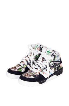 Topshop x adidas Originals 'Mattitude' High Top Sneakers available at #Nordstrom