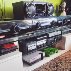 Something we loved from Instagram! My consoles  #ps3 #gamecube #wii #wiiu #ps1 #xbox #xbox360 #nes #n64 #sony #muteki #nintendo #consoles #console #microsoft #gta5 #retro #gaming #retrogaming #retropie #raspberrypi by fred9765 Check us out http://bit.ly/1KyLetq