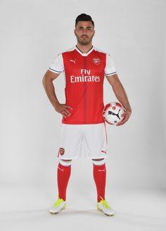 Welcome To Arsenal FC, Sead Kolasinac Arsenal Football, Arsenal Fc, European Football, Fa Cup, Fifa World Cup, Premier League, Sports, Bosnia, Soccer Players