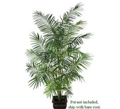 8.5' Artificial Tropical Areca Palm Trees, with No Pot, * Read more reviews of the product by visiting the link on the image.
