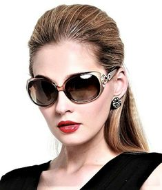 ee90d68f795 DUCO Classic Oversized Polarized Sunglasses for Women UV400 Champagne   affilink  polarizedsunglasses  womensunglasses