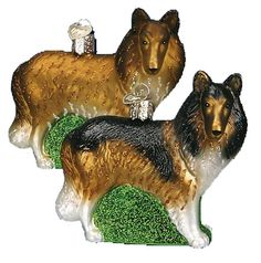The Jolly Christmas Shop - Old World Christmas Collie Ornament, $13.99 (http://www.thejollychristmasshop.com/old-world-christmas-collie-ornament/)