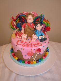 Wreck - it Ralph cake