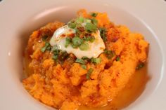 Ginger Whipped Sweet Potatoes at It's Only Natural in Middletown, CT - featured on Good Food America
