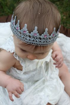 Crown Headband by chandellecotter on Etsy
