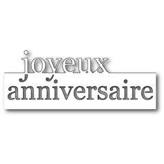 Die Grand Joyeux Anniversaire Memory Box