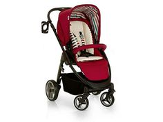 Hauck Lacrosse All in One Pram and Pushchair Travel System - Chilli