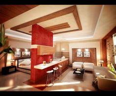 [ Studio Apartment Design Ideas Innovative Interior Kitchen Set House ] - Best Free Home Design Idea & Inspiration Home Design, Design Salon, Apartment Interior Design, Design Ideas, Smart Design, Studio Design, Small Studio Apartment Design, Studio Apartment Decorating, Small Room Design