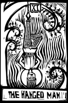 Tarot Card Hanged Man by xochicalco (print image)