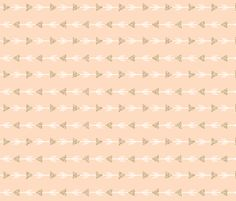 blush climbing arrows gold glitter v. I // small // horizontal fabric by ivieclothco on Spoonflower - custom fabric