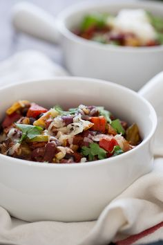 Veggie-Loaded Chili