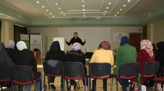 Training session on how to conduct market research