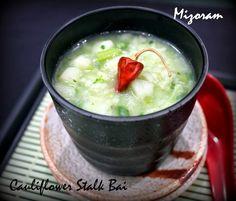 Cauliflower stalk bai Mizoram special