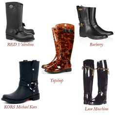 I need the MK moto rain boots!