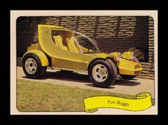 "Fleer ""Kustom Car"" Sticker, 1975 by Cosmo Lutz, via Flickr"