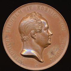 Preussen; Friedrich Wilhelm IV; Ehrenmedaille o.J. (19)
