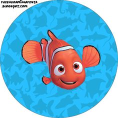 Nemo - Complete Kit with frames for invitations, labels for snacks, souvenirs and pictures! Nemo Pumpkin, Oh My Fiesta, Ocean Party, Looney Tunes Cartoons, Theme Days, Finding Nemo, Children Images, Christmas Deco, Diy Party