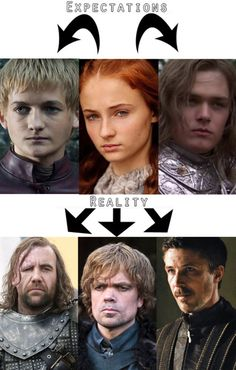 At first, Sansa is betrothed to Joffrey, but he breaks their engagement to marry Margaery Tyrell. She then falls in love with Loras Tyrell, whos gay, before shes forced to marry Tyrion Lannister. Two creepy older men are also interested in her.