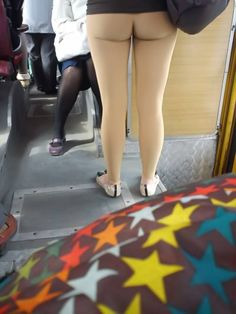 Not Dirty!!  She really is wearing leggings!!!  OMG, useless leggings!  Look at her ankles to verify!!!