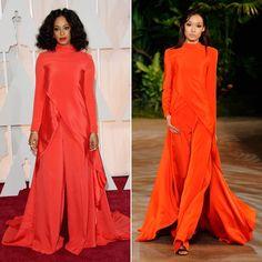 Pin for Later: Warum sollten die Stars auch bis zum Herbst warten? Solange Knowles bei den Oscars Designer: Christian Siriano Tage, die seit der Modenschau vergangen sind: 8