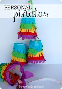 Mini Pinatas for Kids - Somewhat Simple