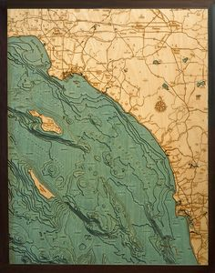 Interesting Places to Visit When in Los Angeles to San Diego|Custom Topographic Art