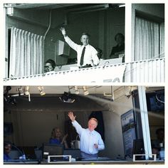 """""""It's a mere moment in a man's life between the All-Star Game and an old timer's game."""" - Vin Scully, Dodgers Legend"""
