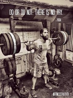 There is no TRY ~ Re-Pinned by Crossed Irons Fitness
