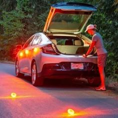 OFF]-Last day promotion Magnetic LED Emergency Safety Flare 🚦 Car Gadgets, Recreational Activities, In Case Of Emergency, Flare, Led, Road Trip Usa, Camping And Hiking, Safety Tips, Cool Tools