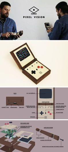 Pixel Vision _ The handmade portable game system by Love Hultén —Kickstarter